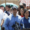 'Conditions are awful': Congressman shares video of migrants held at border