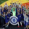 Chelsea destroy Arsenal to win Europa League final