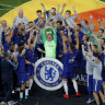 Chelsea destroy Arsenal to win Europa League final