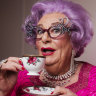 Dame Edna is back – this time without 'that leech' Barry Humphries