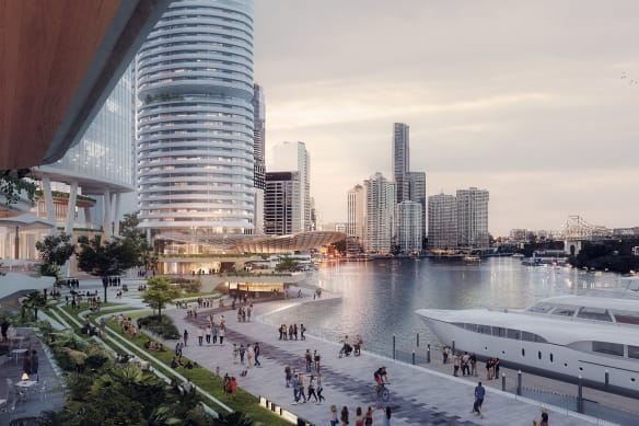 Plans under way for $1.4 billion waterfront precinct
