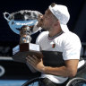 Dylan Alcott is the most famous man at the Australian Open