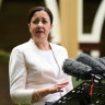 Premier warns Qld may not follow other states in easing virus lockdown