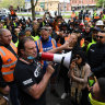 CFMEU president tests positive, Setka in isolation as COVID hits union office