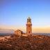 Sunset at Ningaloo Lighthouse near Exmouth.