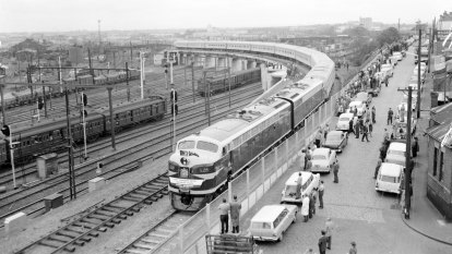 From the Archives, 1962: The Southern Aurora connects Melbourne and Sydney