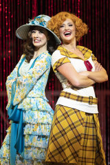 Annie Aitken (right) as Millie and Claire Lyon as Dorothy Brown.