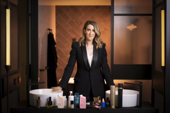 Adore Beauty co-founder Kate Morris. The company's gloss has faded since its October IPO.