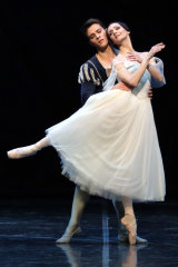 A taste of the more classical Giselle show.