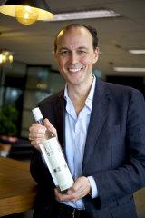 Dean Lucas founder of 666 Vodka.