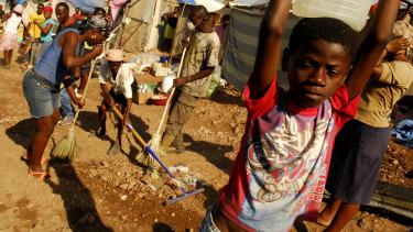 Haiti was devastated by an earthquake in 2010.