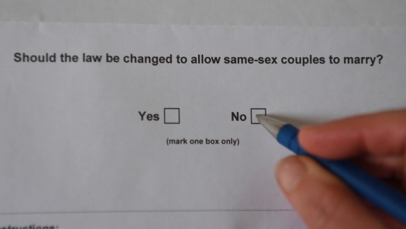 The top 10 reasons I'm voting 'no' on same-sex marriage