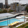 The opening of the Gunyama Park Aquatic and Recreation Centre at Green Square has been delayed until early next year.