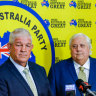 Former rugby league star gets $500k donation from Clive Palmer
