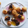 Helen Goh's double chocolate cream puffs