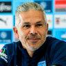 Corica will stick by game plan for Roar despite Aloisi's resignation
