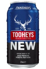 Canned: The beer to celebrate Penrith's premiership that wasn't.