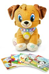 Storytime Buddy can 'read' the five included books, or act as a nightlight.