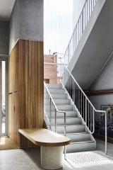 One strategic move was to place the stairwell at the front of the building.