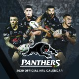 Campbell-Gillard on the cover of the Panthers' official 2020 calendar.