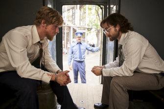 Daniel Radcliffe and Daniel Webber star in Escape from Pretoria.