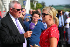 Trainer Kim Waugh will saddle up promising filly Pretty Enuff.