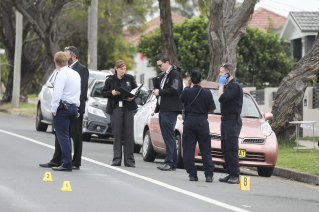 Police are investigating after a teenager was shot in a suburban street in South Granville.