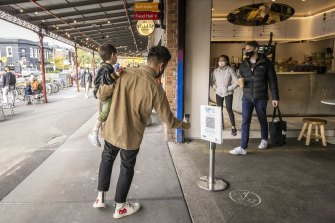 Victorians checked in more than 29 million times at public venues last week alone.