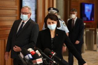 NSW Premier Gladys Berejiklian and Health Minister Brad Hazzard both encouraged all of Sydney to receive a vaccine.