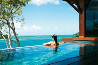 The Great Barrier Reef Foundation's chairman's panel met at Hamilton Island's luxury Qualia Resort.