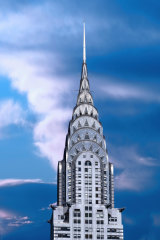 The Chrysler building is one of the most iconic buildings in Manhattan.