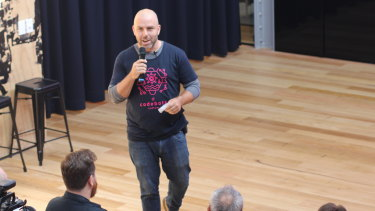 Codebots founder Eban Escott launches Beta application.