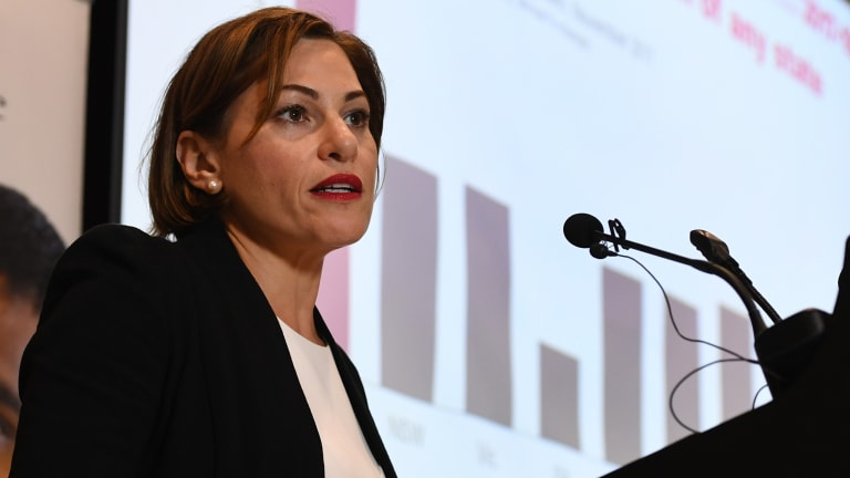 Queensland Treasurer Jackie Trad said the GST options put forward by the commission could see Queensland take an annual hit of up to $2.4 billion to its budget bottom line.