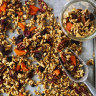 Not too crunchy, not too chewy, this maple pecan granola is just right