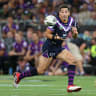 Wests Tigers stun Melbourne Storm in Billy Slater's 300th