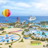 Cruise line to build giant attraction on private Pacific island