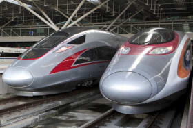 Zoom zoom: Hong Kong's new bullet trains launch