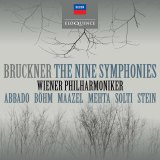 Bruckner's The Nine Symphonies album cover.
