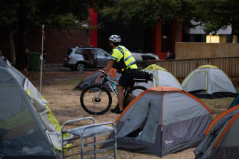 Homeless camps in Perth and Fremantle highlighted the state's housing crisis.
