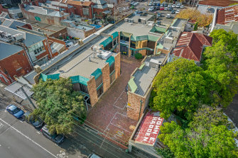 Seven strata offices for sale in one go.
