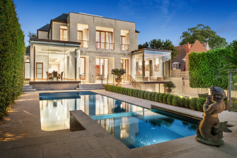 A caveat has been quietly placed on the Lansell Road mansion, which Shannon Bennett bought with former partner Madeleine West for $16 million in 2018.