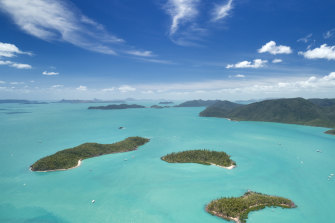 The two-month film shoot will cover a vast tract of Queensland, including the Whitsunday Islands.