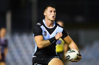 Hot prospect: Bronson Xerri will make his Sharks debut against Parramatta.