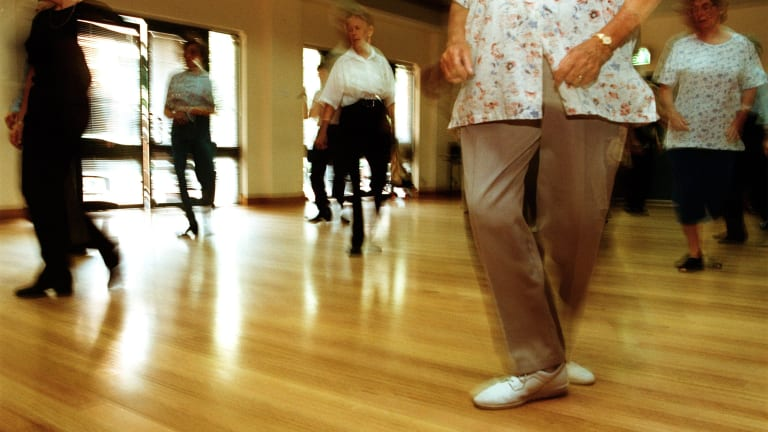 Age is no barrier to keeping fit.