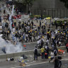 'Everyone fears Beijing': Police fire tear-gas, rubber bullets at protesters