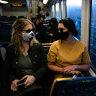 Premier resists calls to make masks compulsory on Sydney's public transport