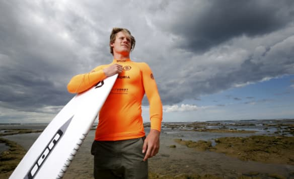 Are you jealous? Life's a beach for Melbourne's global kitesurfer