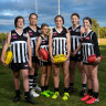 'It makes me who I am': Girls relieved to be back on the footy field