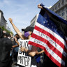 Floyd protests swell but riots subside as order is restored in US cities