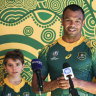 'Monumental moment': Beale bursting with pride over Indigenous jersey